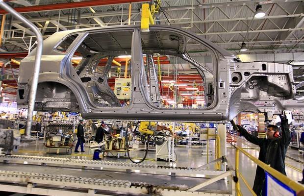 Fábrica Hyundai (Foto: Divulgação)