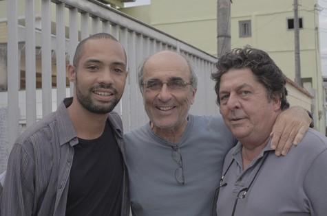Silvio Guindane, José Joffily e Stepan Nercessian (Foto: Divulgação)