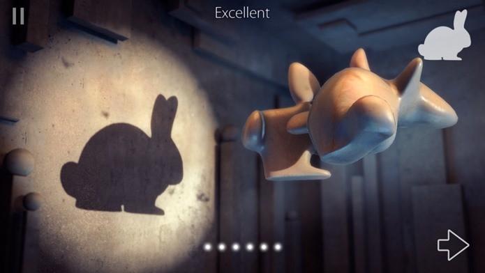 Game criativo onde você deve resolver enigmas usando sombras (Foto: Divulgação)