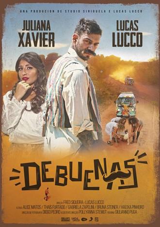 Cartaz do clipe de 'De buenas' (Foto: Reprodução/Facebook/Lucas Lucco)