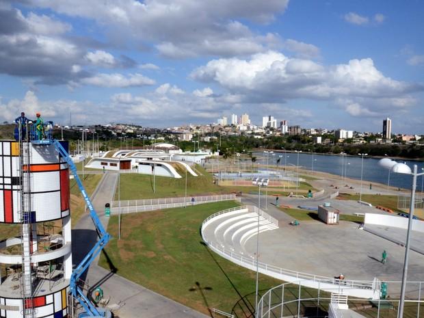 Parque de Bodocongó foi inaugurado neste sábado (1º), em Campina Grande (Foto: Cláudio Goes/ Secom)
