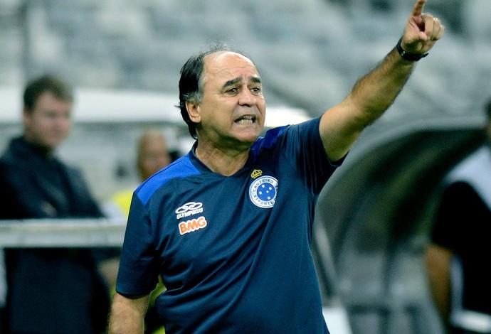 Marcelo Oliveira jogo Cruzeiro e Universidad de Chile (Foto: AP)