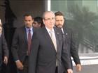 Cunha e Lewandowski conversam sobre regras de tramitação do pedido de impeachment