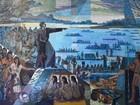 Mostra relata história da chegada dos espanhóis ao Paraná no século XV