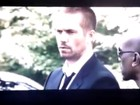 Vídeo com Paul Walker mostra cena de funeral em 'Velozes e furiosos 7'