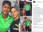 Menino conquista 87 mil seguidores ao posar com famosos em fotos no PI