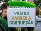 Manifestações em cidades europeias dão apoio a protestos no Brasil