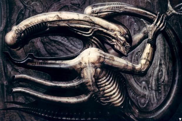 hr giger alien (Foto: reprodução)
