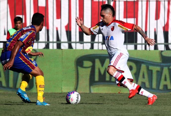 Pará, treino do Flamengo (Foto: Gilvan de Souza / Site do Flamengo)