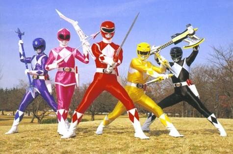 Power Rangers (Foto: Reprodução da internet)