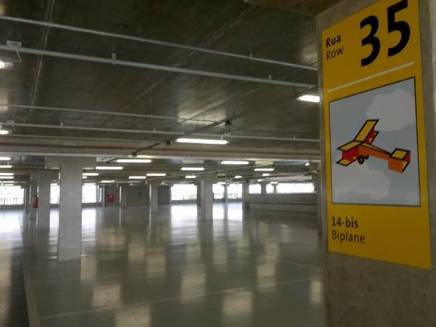Edifício-garagem adiciona 2.644 vagas ao Aeroporto de Cumbica (Foto: Rosanne D'Agostino/G1)