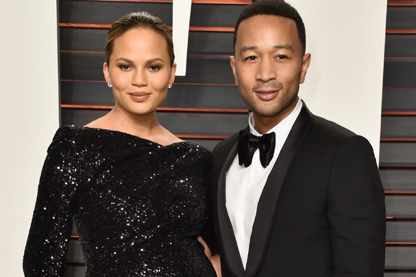 O casal Chrissy Teigan e John Legend (Foto: Getty Images)