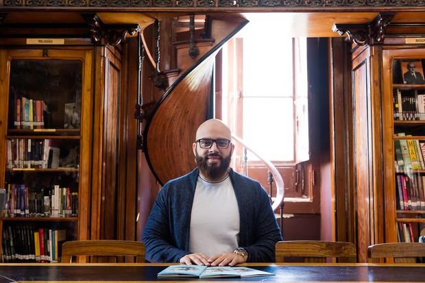 Fabiano de Abreu lança livro em Portugal (Foto: Gabriela Mello / MF Press Global)