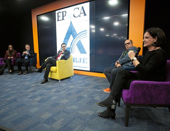 Debate sobre notícias falsas relizado por ÉPOCA e pela Aberj (Foto: Emiliano Capozoli/ÉPOCA)