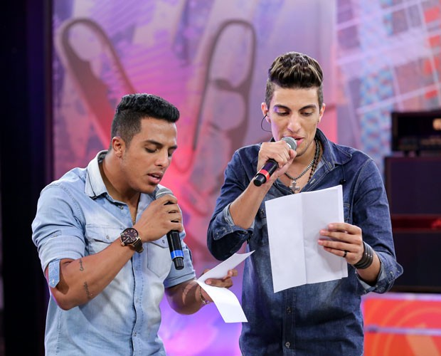 Danilo Reis e Rafael ensaiam para a grande Final do reality show (Foto: Isabella Pinheiro/Gshow)