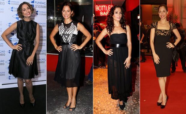 Raio-X de Estilo: Camila Pitanga - Pretinho nada básico (Foto: Ag. News | Photorio News)
