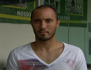 Pedro Henrique, goleiro do Goiás (Foto: Reprodução/TV Anhanguera)