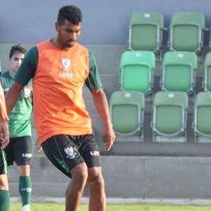 Thiago Santos e Leandro Guerreiro, América-MG (Foto: Carlos Cruz/AFC)