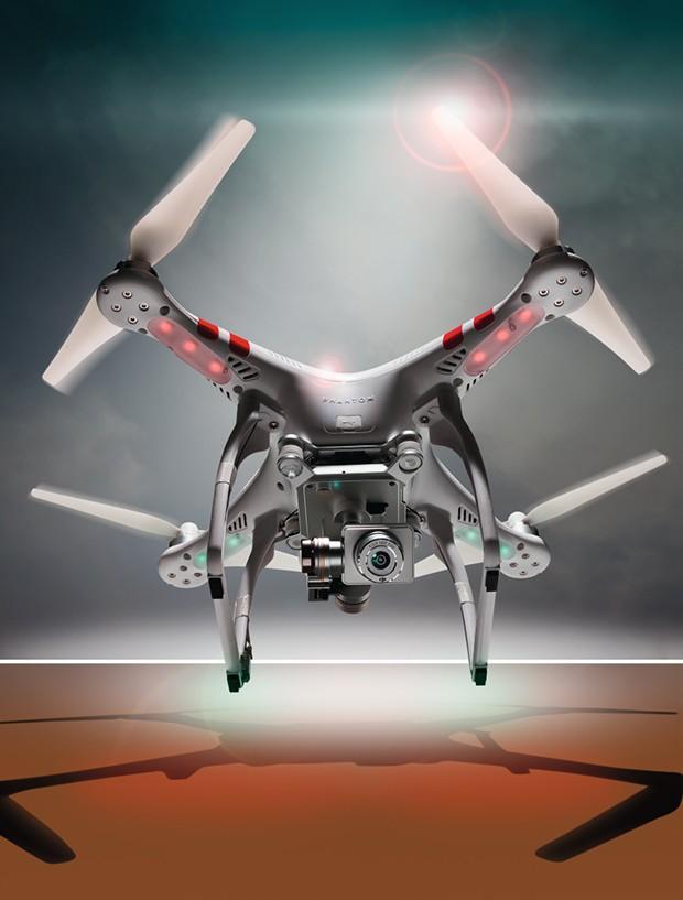 Drone Phantom 2 Vision Plus (Foto: Divulgação)