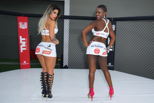 Ex-BBBs Vanessa Mesquita e Angélica Ramos (Foto: Caio Duran / Divulgação)