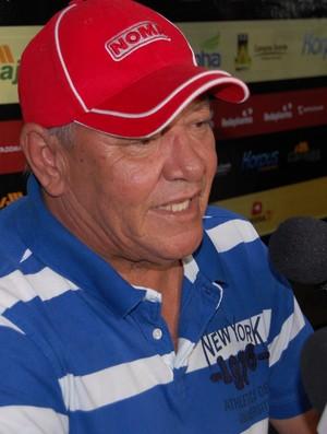 Freitas Nascimento, treinador do Campinense (Foto: Silas Batista / GloboEsporte.com/pb)