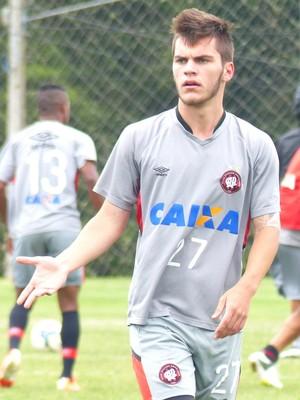 Nathan Atlético-PR (Foto: Monique Silva)