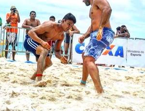 William Ribeiro wrestling  (Foto: Bruna Santos)