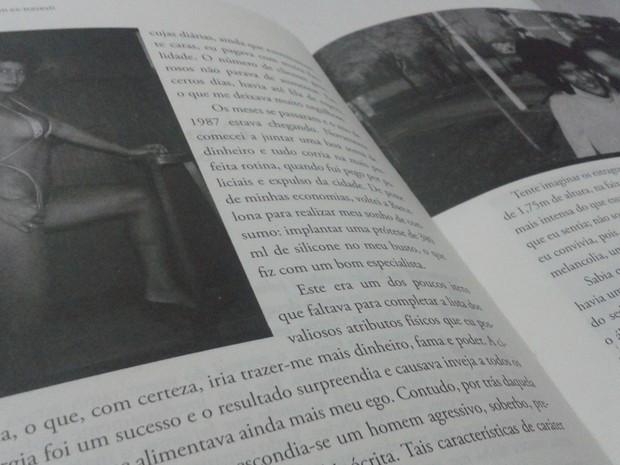 Livro conta detalhes da época em que pastor era travesti (Foto: Reprodução)
