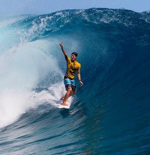 Gabriel Medina surfe WCT Taiti (Foto: Kirstin Scholtz/ASP)