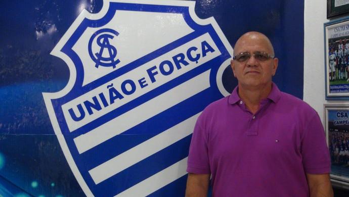Ronaldo Bagé, técnico do CSA (Foto: Paulo Victor Malta/Globoesporte.com)
