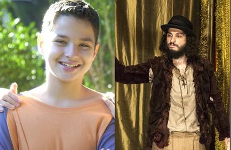 No ar como Hugo de 'Novo Mundo', César Cardadeiro interpretou Pedrinho no 'Sítio do picapau amarelo', de 2001 a 2004 Divulgação/TV Globo