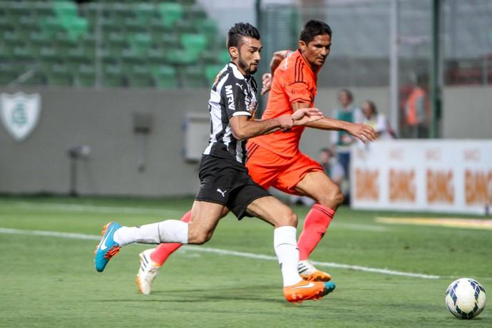 Dátolo foi um dos destaques do Atlético-MG na vitória sobre o Sport (Foto: Bruno Cantini)
