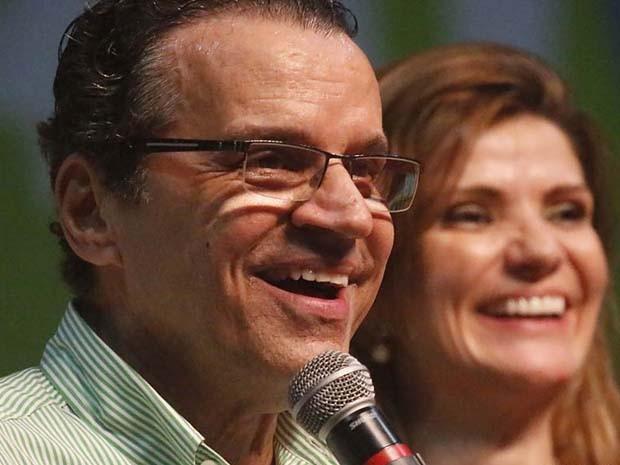 Henrique Alves, candidato ao Governo do Rio Grande do Norte pelo PMDB (Foto: Canindé Soares/G1)