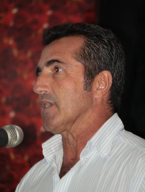 Paulo Moroni, treinador do Parnahyba, campeão piauiense em 2012 (Foto: Neyla do Rêgo Monteiro)