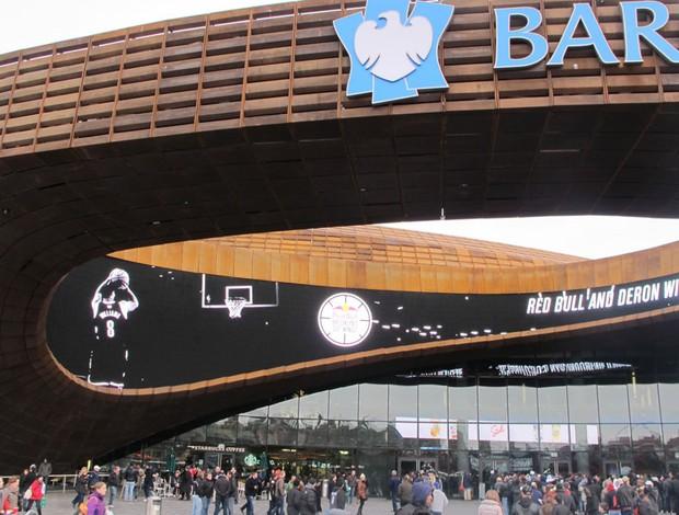 Barclays Center Brooklyn Nets NBA basquete (Foto: Gustavo Rotstein)