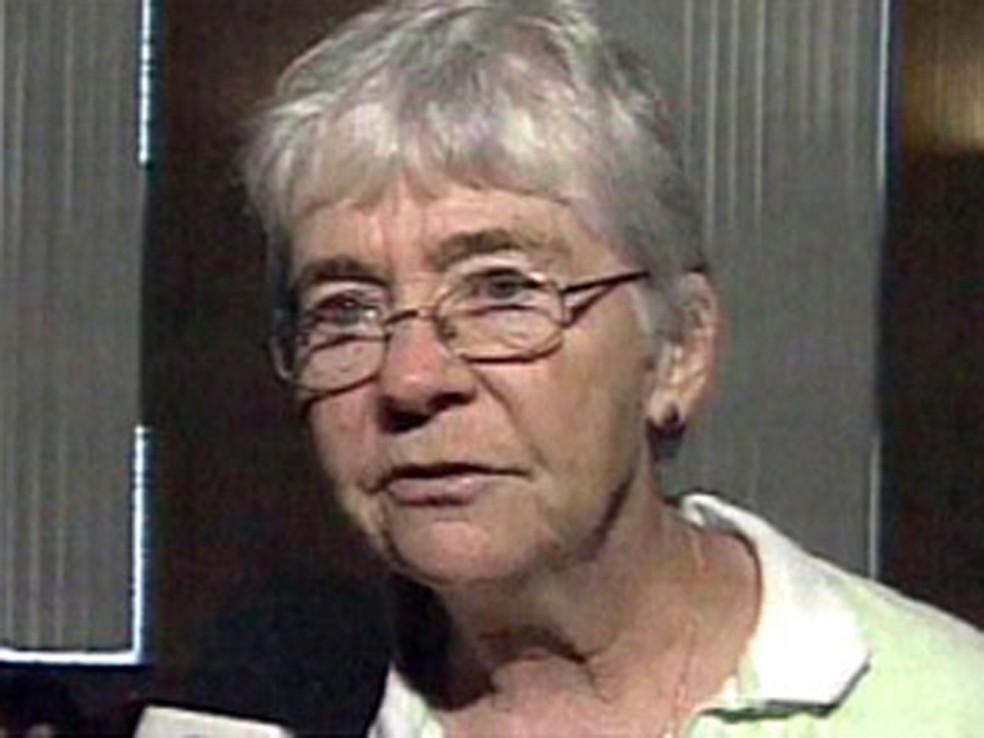 Irmã Dorothy Stang foi morta em fevereiro de 2005 (Foto: Reprodução/TV Globo)