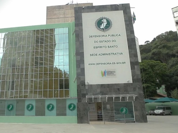 Defensoria Pública do Espírito Santo (Foto: Divulgação/DPE-ES)