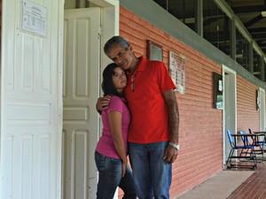 Pai da acreana, Francisco Moura diz que se sente orgulhoso pela conquista da filha (Foto: Caio Fulgêncio/G1)