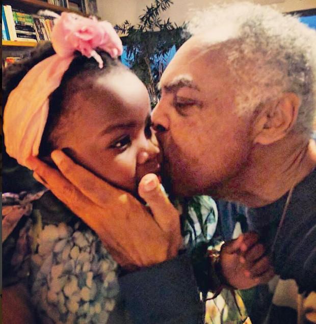Titi e Gilberto Gil (Foto: Reprodução/Instagram)