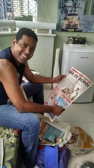 Henrique ex-jogador Vasco 2004 (Foto: Raphael Zarko)