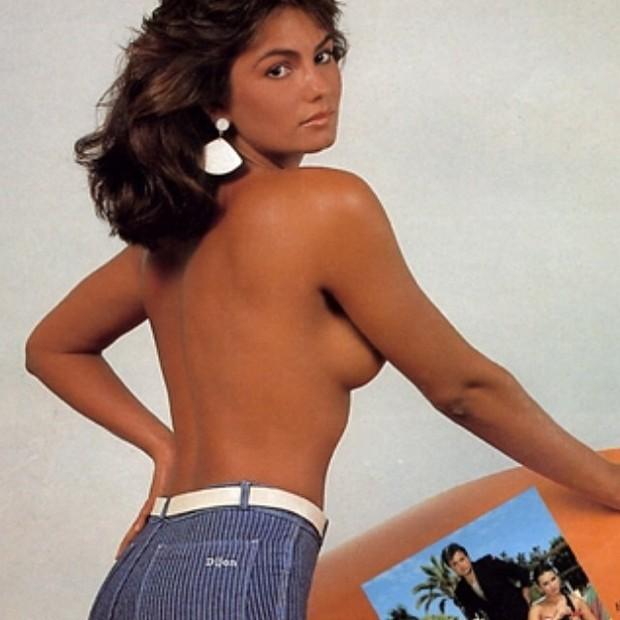 Luiza Bru Relembra Tempos De Modelo Foto Topless