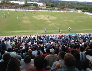 Primeiro jogo da final do campeonato rondoniense (Foto: Shara Alencar/GLOBOESPORTE.COM)