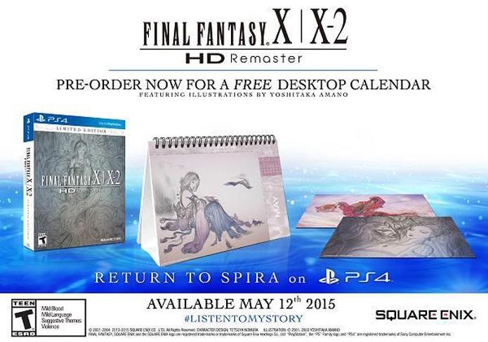 A compilação será lançada para o PlayStation 4 em maio deste ano (Foto: Divulgação)