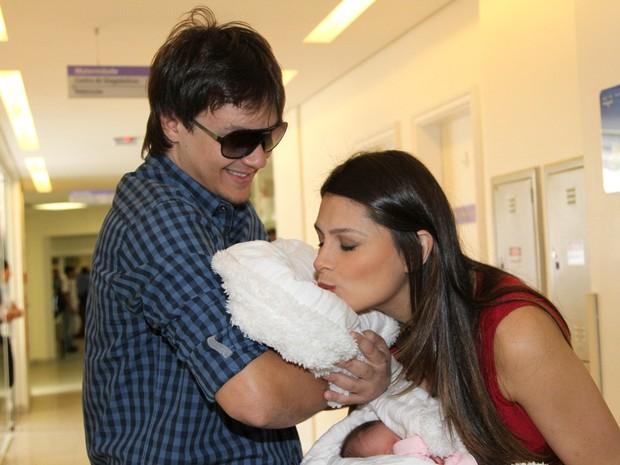 Natalia Guimaraes e Leandro (Foto: Caio Duran e Thiago Duran/AgNews)