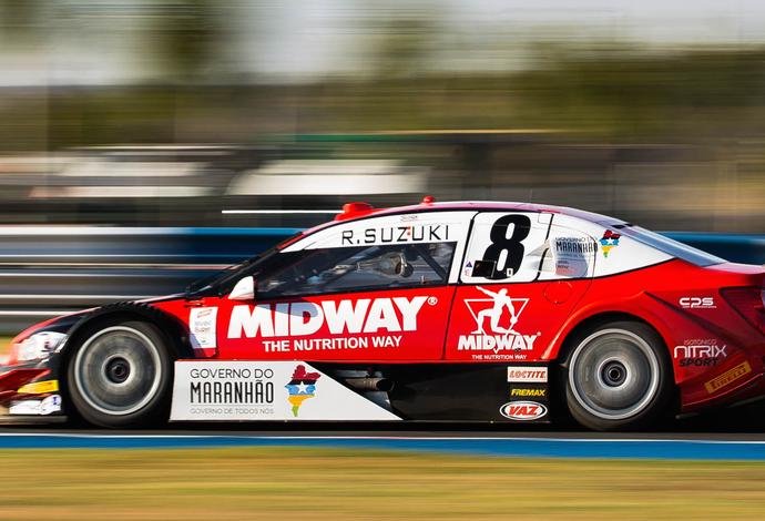 Piloto Rafael Suzuki é representante maranhense na Stock Car há duas temporadas (Foto: Rafael Gagliano/Hyset)