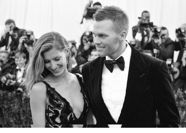 Gisele e Tom Brady no Met Gala de 2014 (Foto: Getty Images)