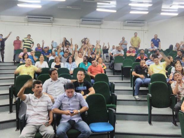 Agentes e inspetores penitenciário entram em greve do Maranhão (Foto: Divulgação/Sindspen)