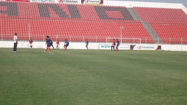 Treino Ituano no Estádio Novelli Júnior (Foto: Marcus Vinícius Souza/GloboEsporte.com)