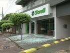 Bandidos explodem cofres de quatro agências bancárias em Terra Rica-PR