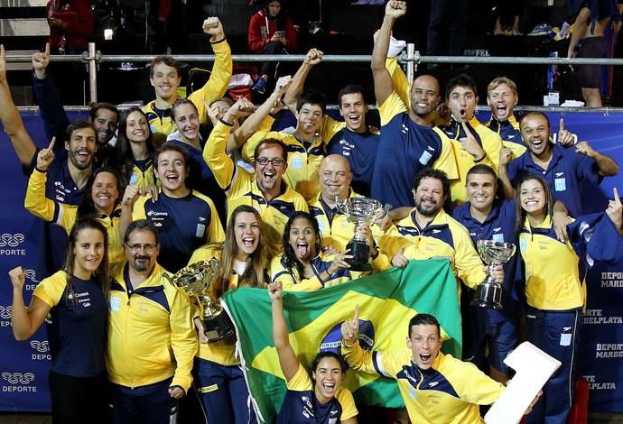 natação seleção brasil (Foto: Satiro Sodré / CBDA)